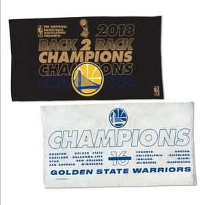 ✅ Golden State Warrior NBA Champions Towel